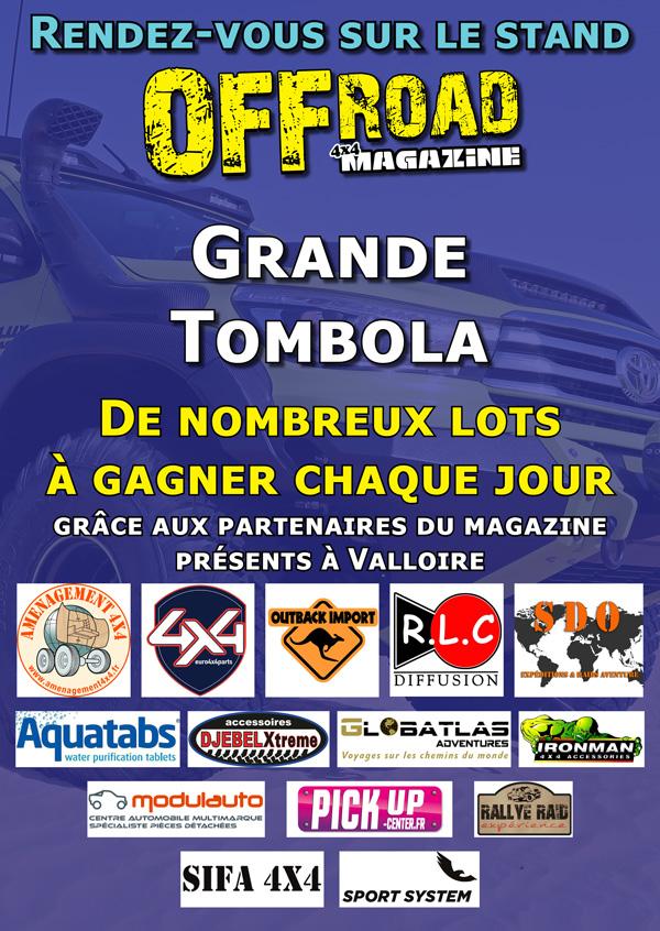 Tombola Offroad Magazine Valloire 2018