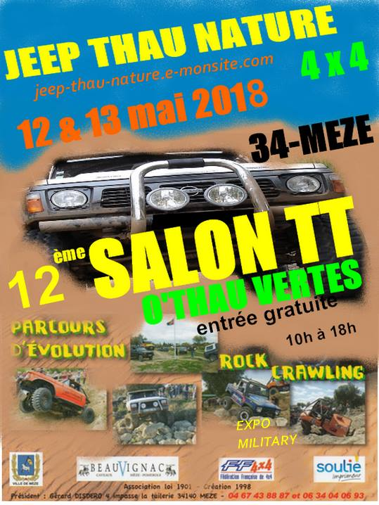 Salon Jeep Thau Nature 2018