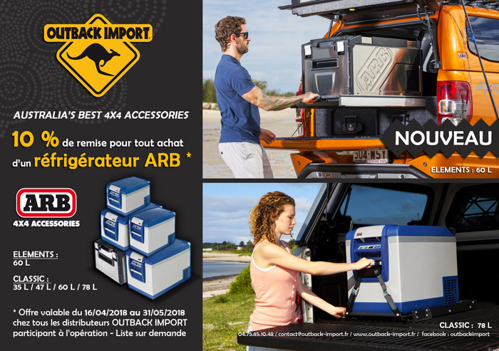 Promo ARB Outback Import