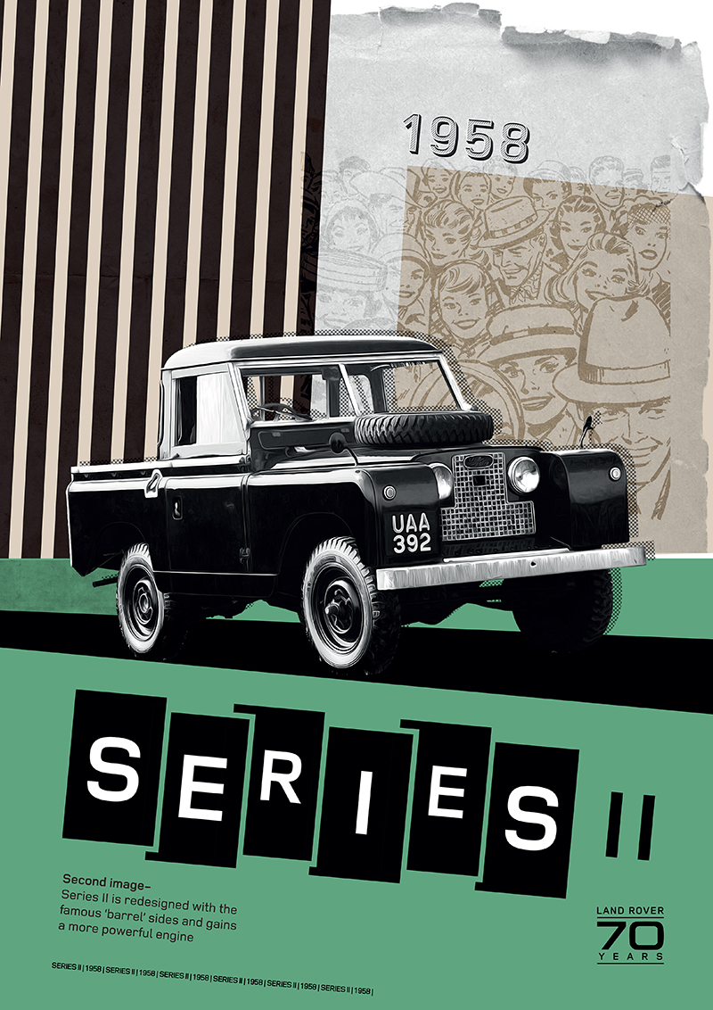 Poster Land Rover