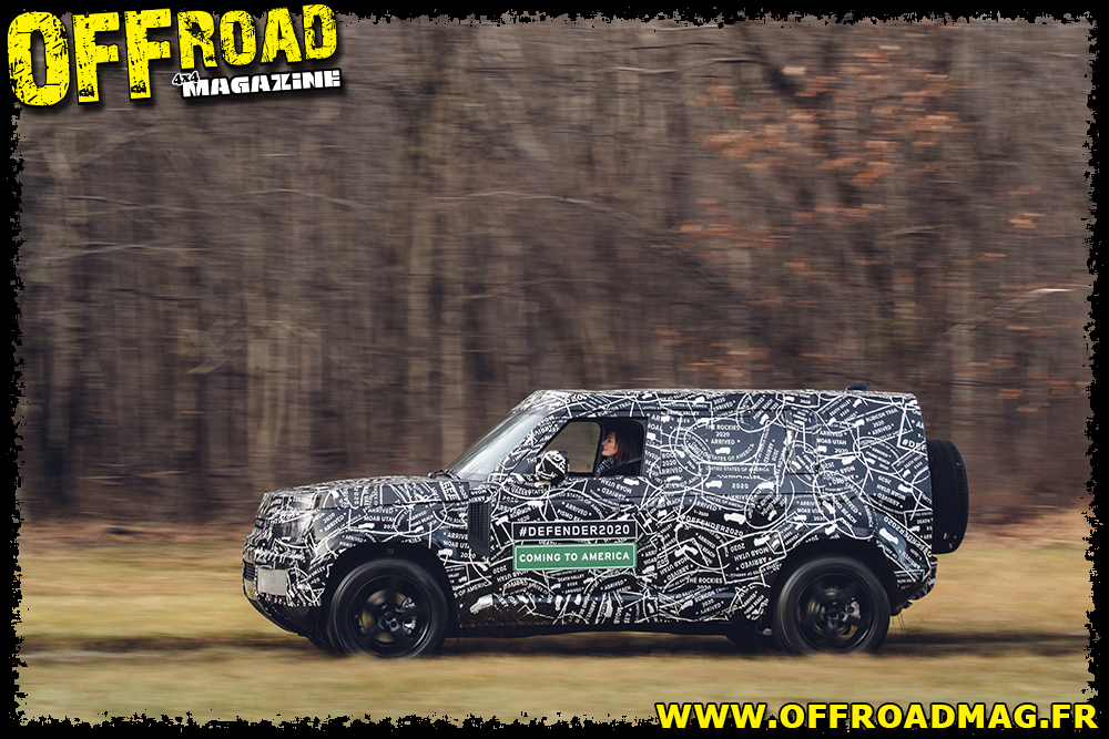 Land Rover New Defender 2020