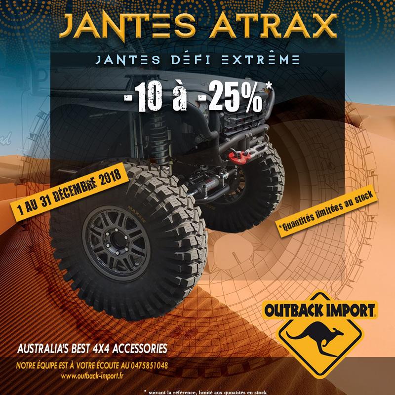 Jantes Atrax Outback Import