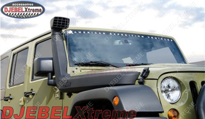 Snorkel Djebel Xtreme pour Jeep