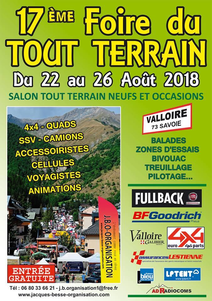 Foire tout-terrain de Valloire 2018