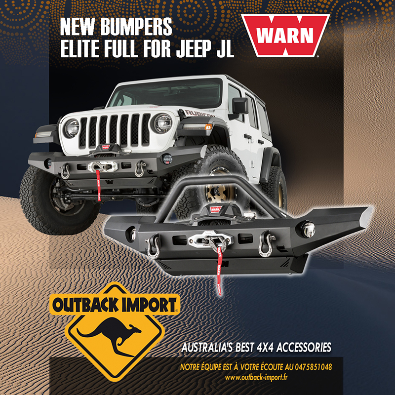 Pare-chocs Elite Jeep Wrangler JL