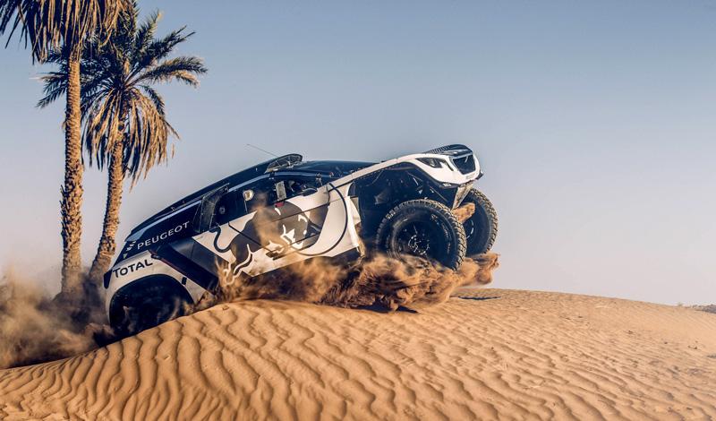 Sebastien Loeb au Dakar 2019