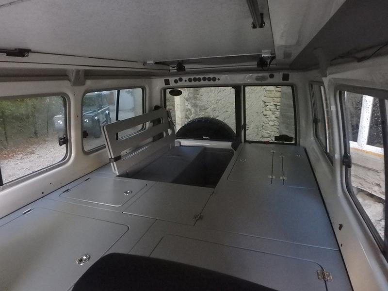 Amenagement 4x4 Toyota HZJ 78