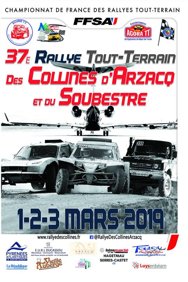 Rallye des collines d'Arzacq et du Soubestre 2019