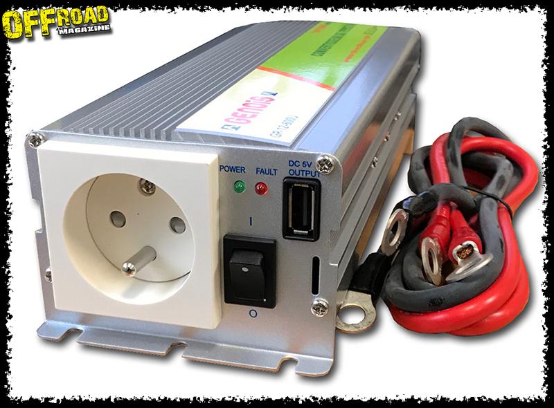 Convertisseur 12 / 220 volts RLC Diffusion