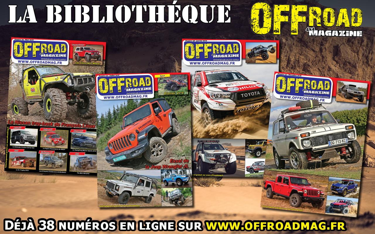 Offroad 4x4 Magazine, le magazine 4x4 totalement gratuit