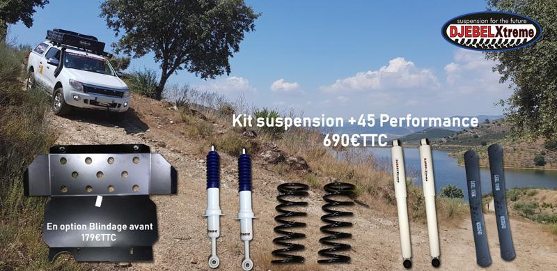 RLC Diffusion ford ranger kit suspension