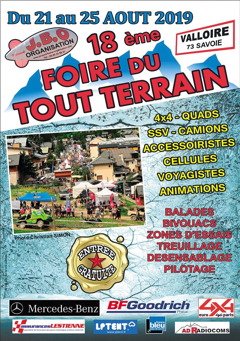 Foire du tout terrain de Valloire 2019