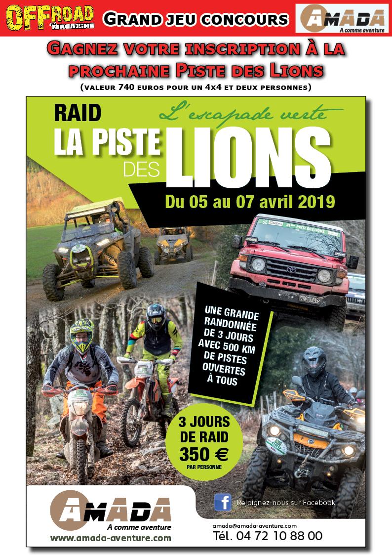 Raid La Piste des Lions 2019 - Amada Aventure