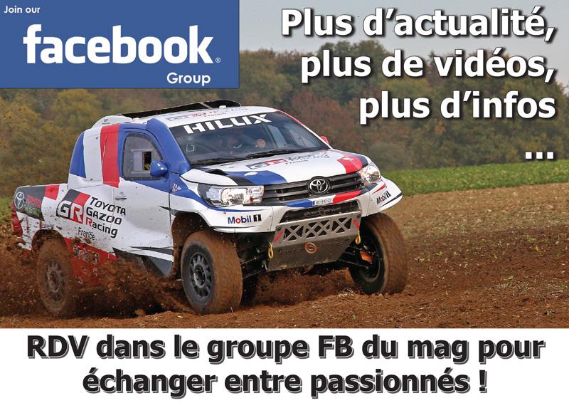 Offroad 4x4 Magazine, le groupe FB officiel