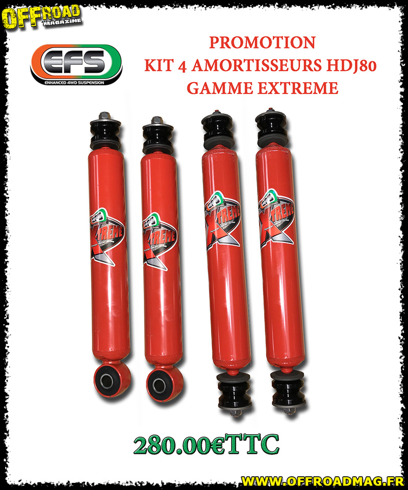 Promotion EFS pour HDJ 80