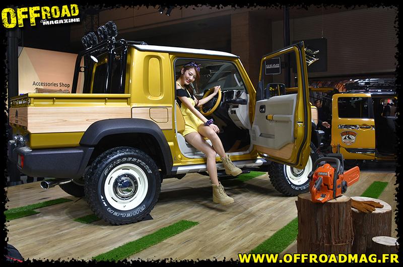 Suzuki new Jimny pick-up