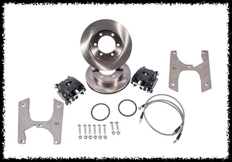 Kit frein à disque Toyota Euro4x4parts