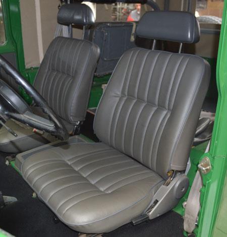 housses de sièges avant pour Toyota BJ