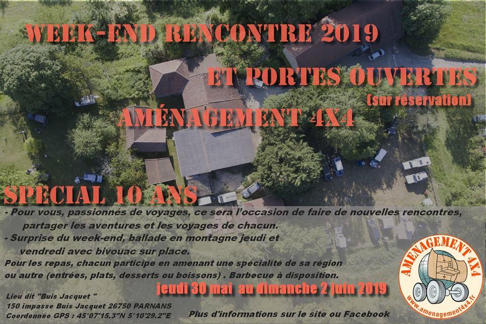 Week-end Rencontre Amenagement 4x4 2019
