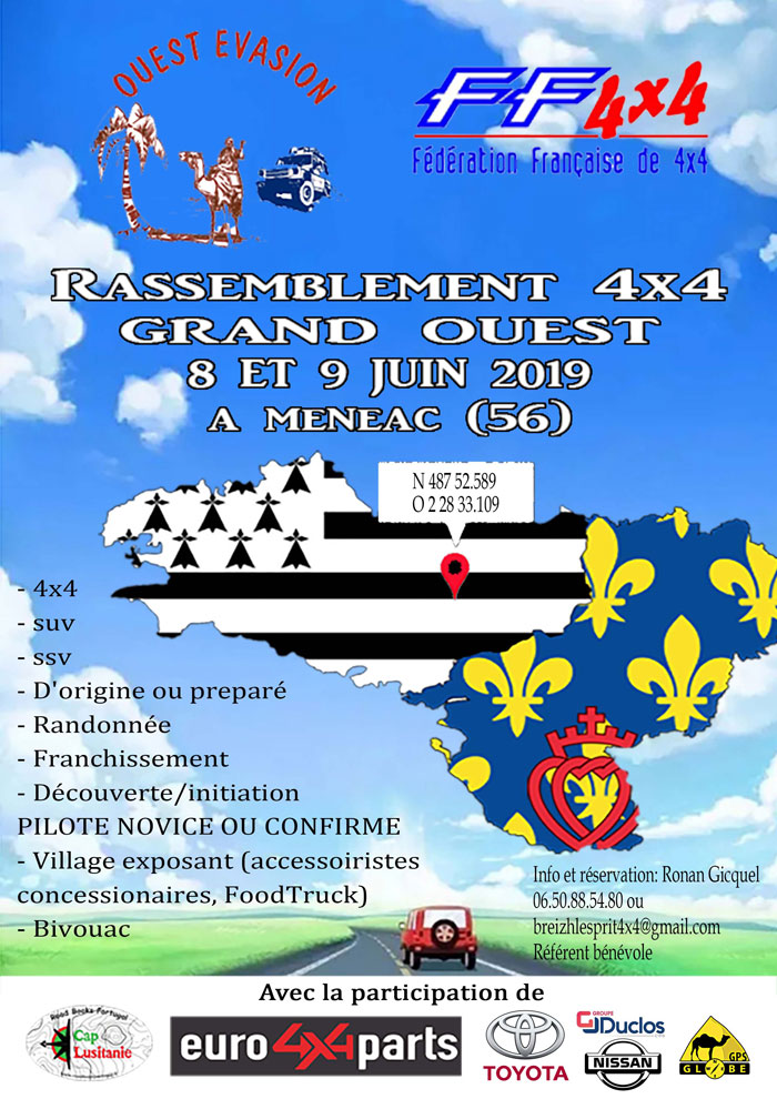 Rassemblement 4x4 Grand Ouest 2019