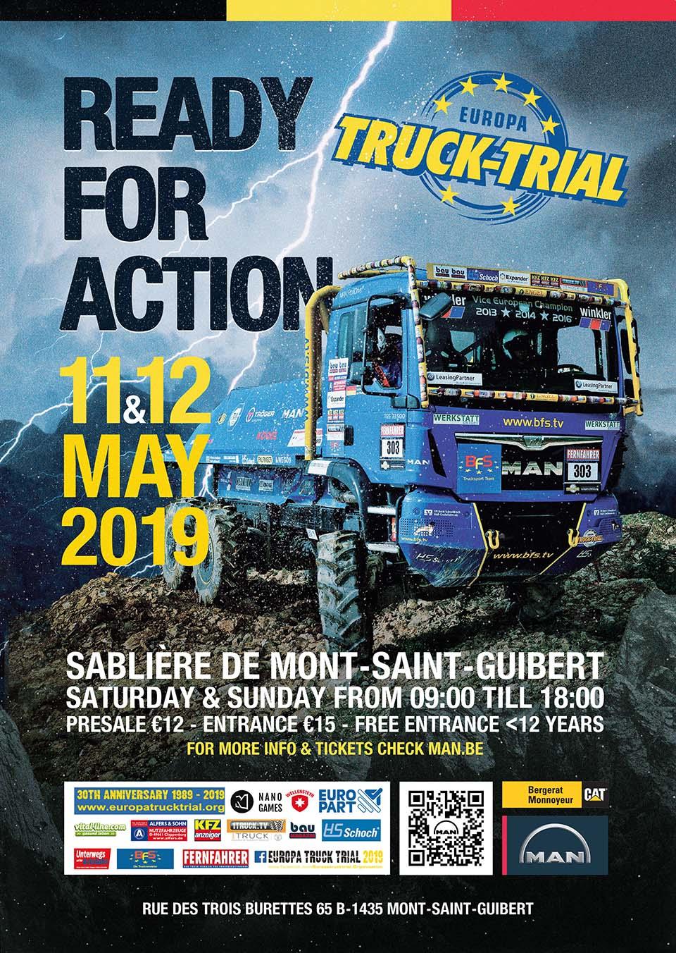 Europa Truck Trial Belgique 2019