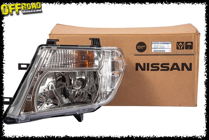 Phare Nissan Navara