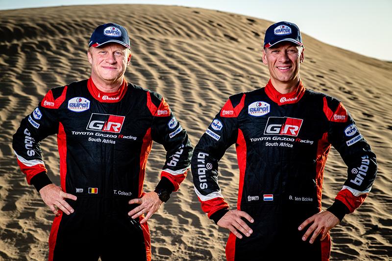 Quatre équipages Toyota au prochain Dakar.