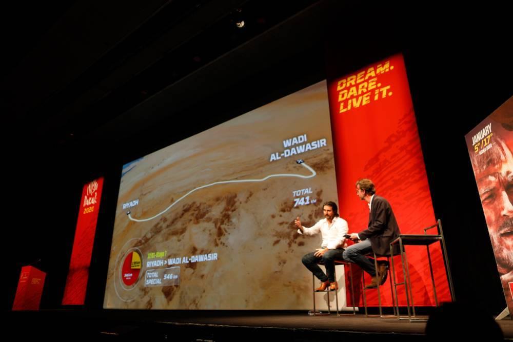 Dakar 2020 : le parcours
