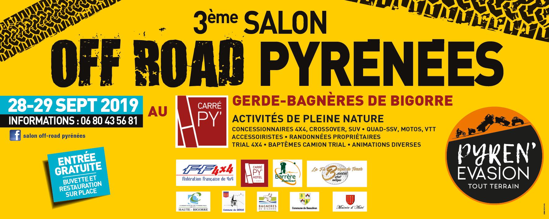 Salon Off-Road  Pyrénées 2019