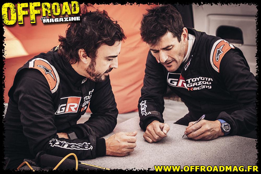 Alonso et Coma - Dakar 2020