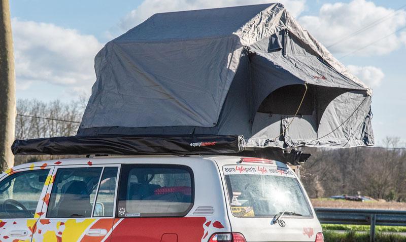 Nouvelles tentes de toit chez Euro4x4parts
