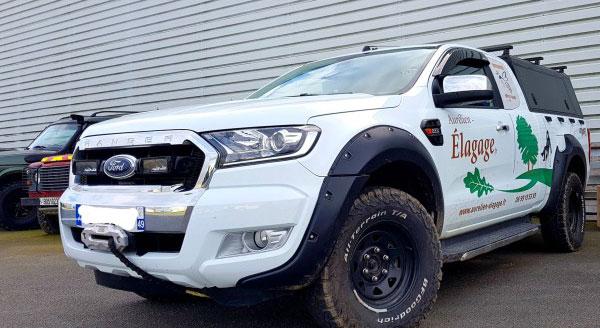 Des élargisseurs pour Ford Ranger