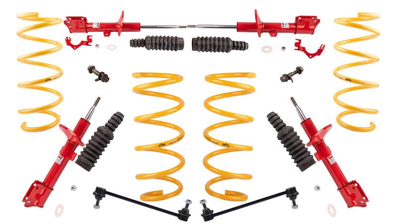 Kit suspension pour Duster chez Euro4x4parts