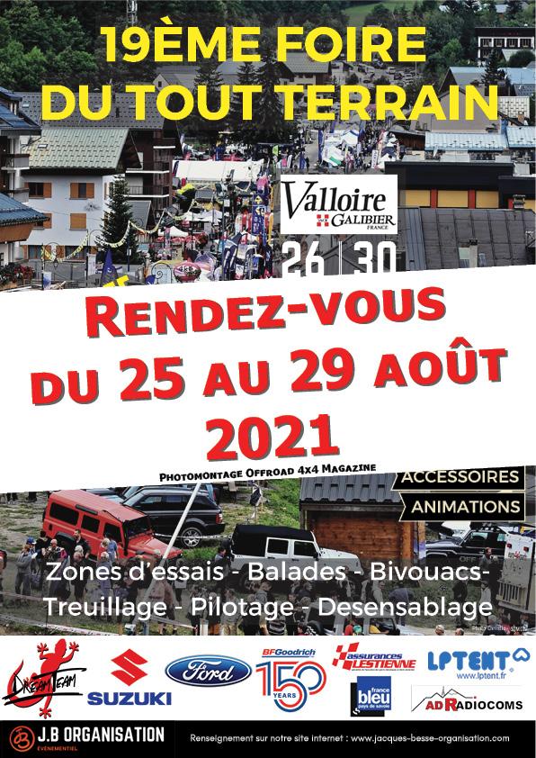 La Foire du tout-terrain de Valloire 2021