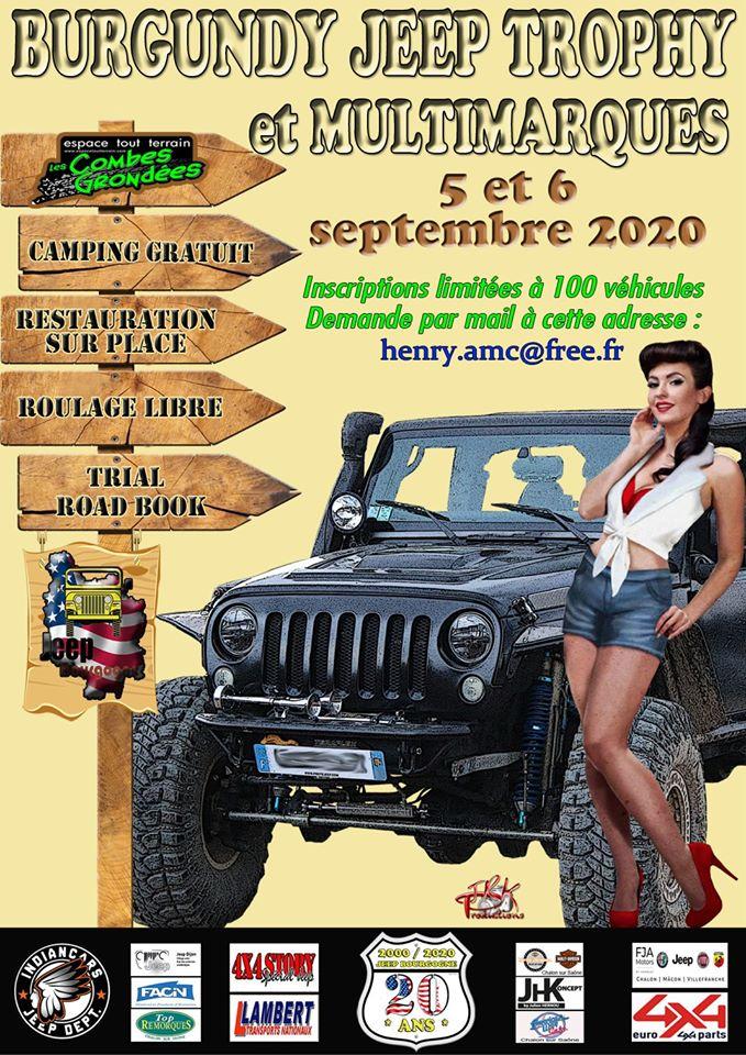 Le Burgundy Jeep Trophy 2020 en septembre