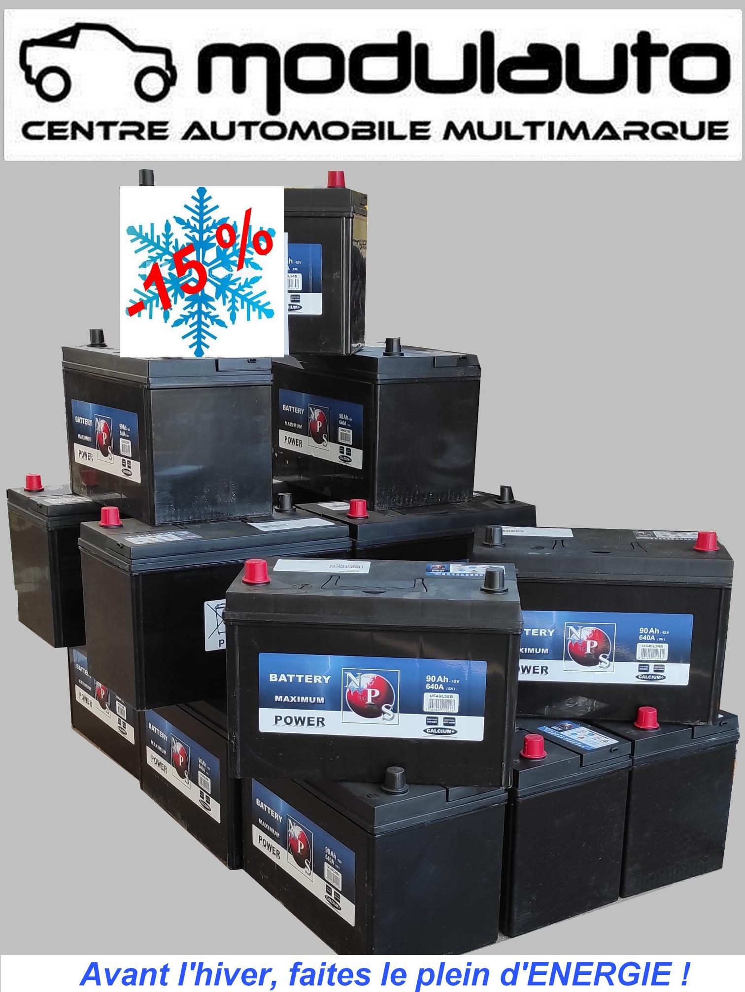 Opération batteries chez Modul Auto