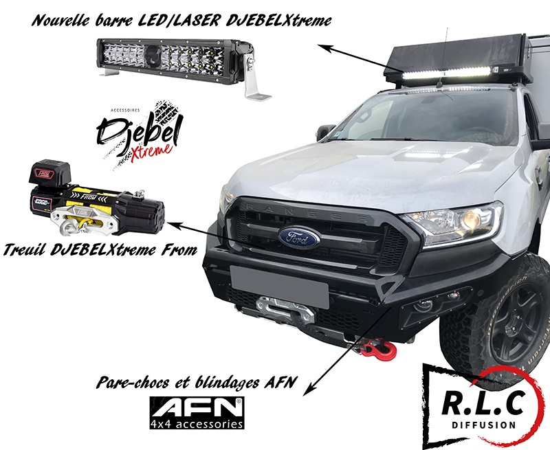RLC Diffusion pense au Ford Ranger