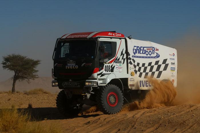 AER 2020 : Un Iveco devance les Tarek