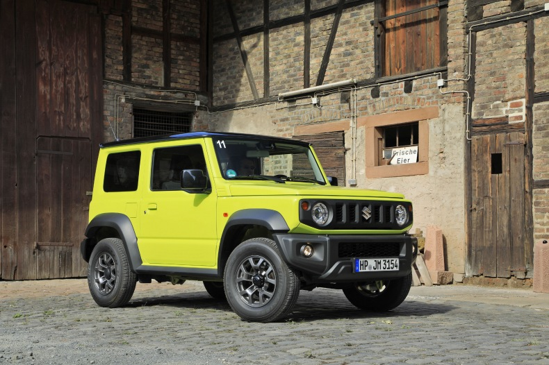 Suzuki arrête le Jimny en Europe