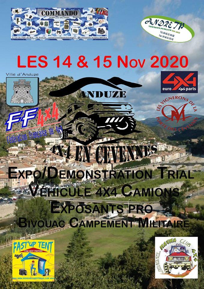 Salon 4x4 en Cevennes 2020 : les dates
