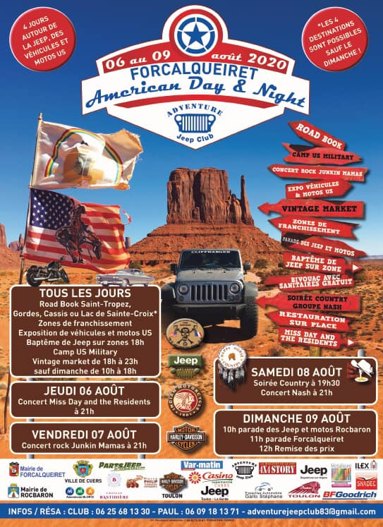 Forcalqueiret American Day & Night 2020