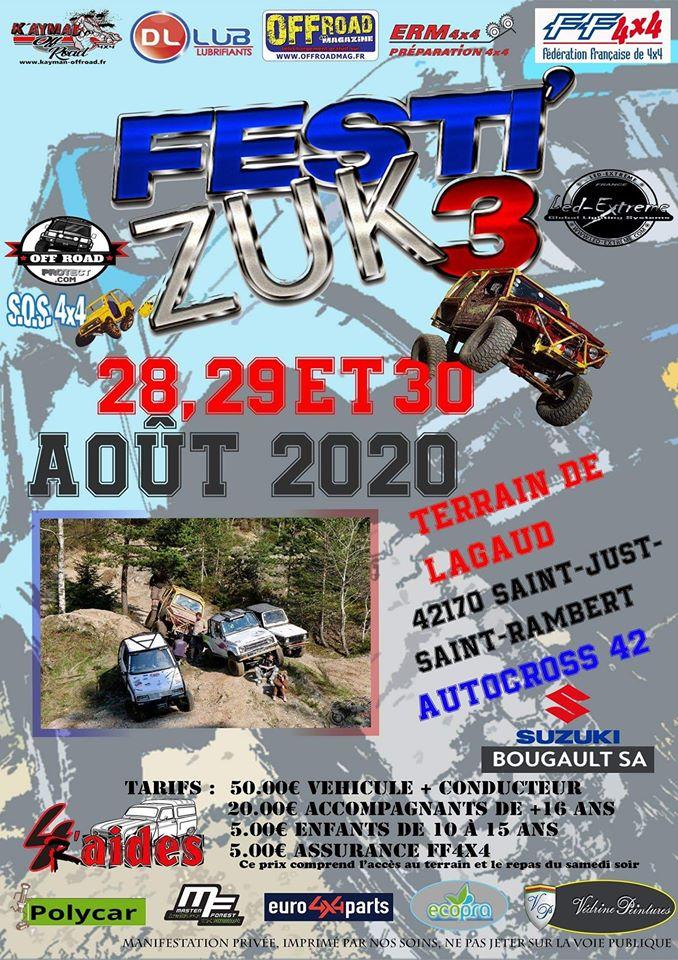 Le Festi'Zuk change de dates pour 2020