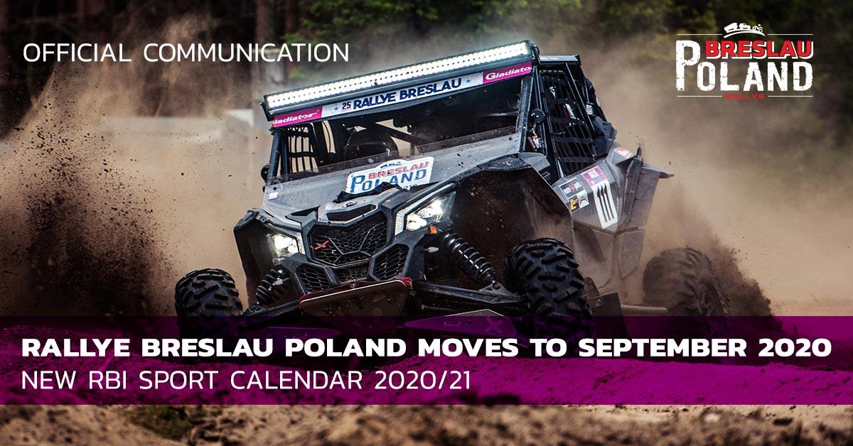 Le Breslau Poland décalé à septembre