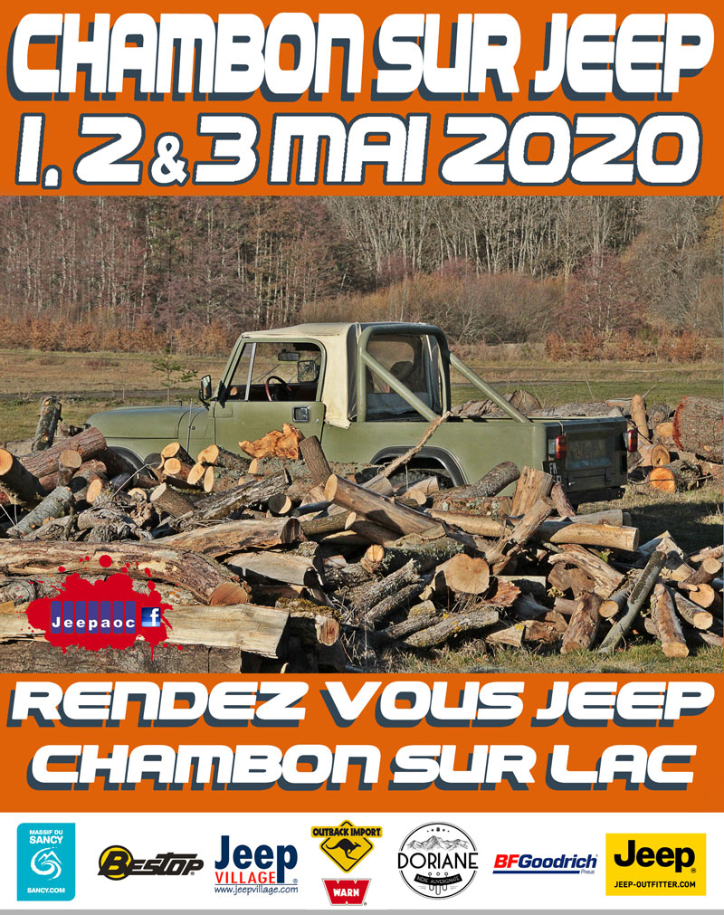 Chambon sur jeep 2020