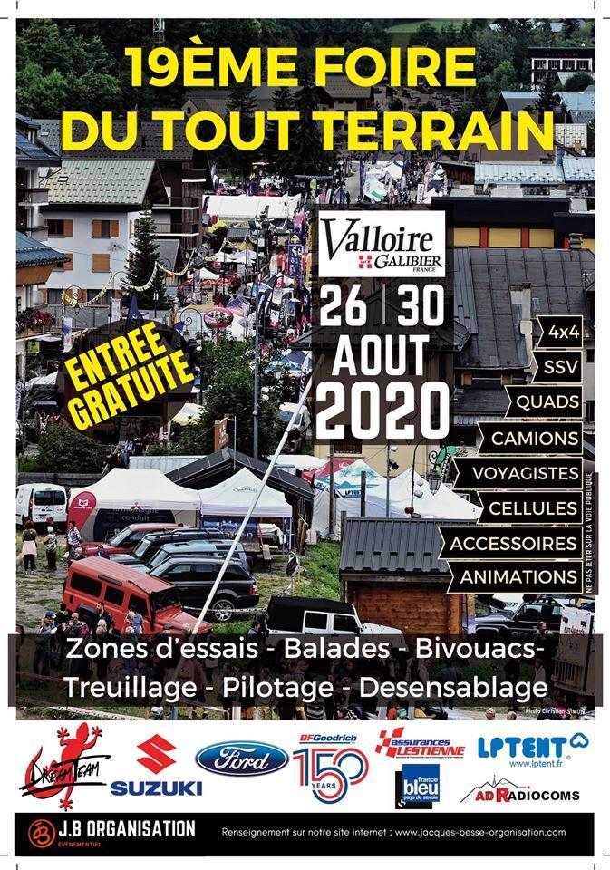 Foire tout-terrain de Valloire 2020 : les dates