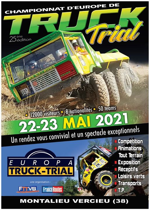 Europa Truck Montalieu 2021 : les dates