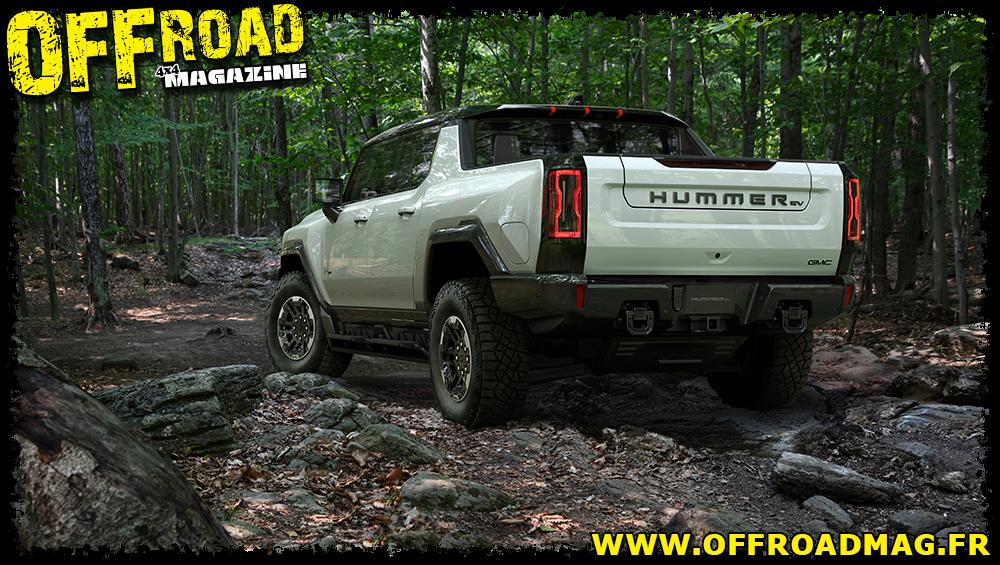 Hummer EV : nouvelles photos