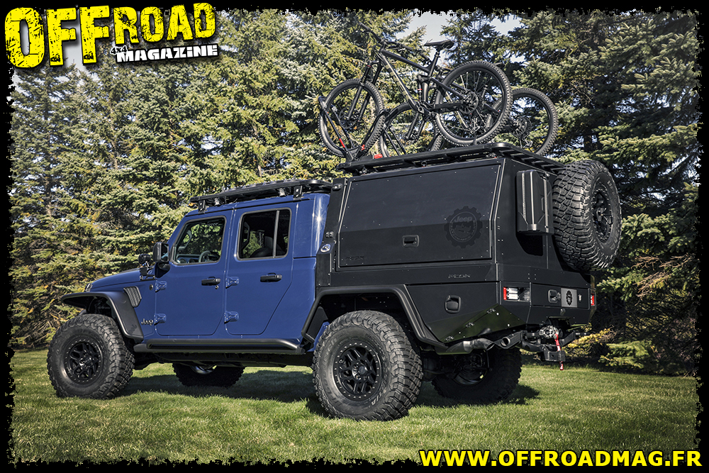 Le Jeep Gladiator Top Dog Concept