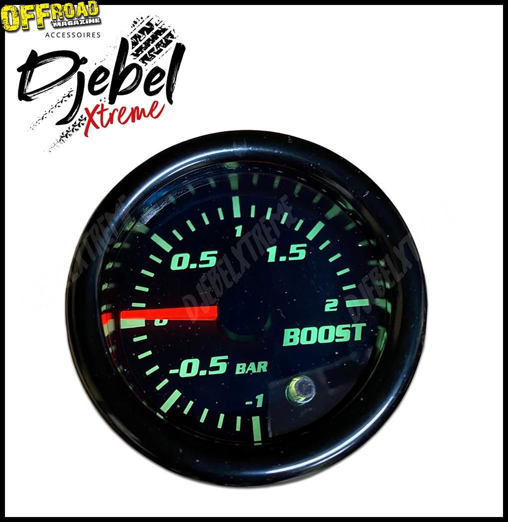 Surveillez votre turbo avec Djebel Xtreme