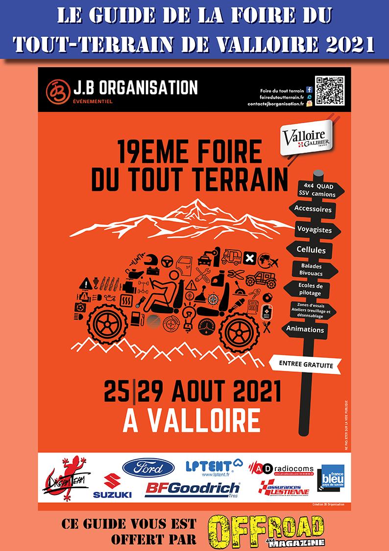 Le guide de la Foire de Valloire 2021